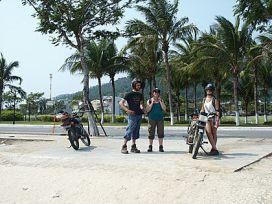 Maeva et Medhi au Vietnam
