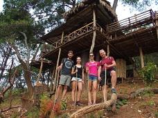 Gaelle et Vivian en Birmanie