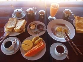 Petit déjeuner Sri Lanka