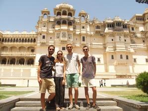 Antoine et Jérome en Inde