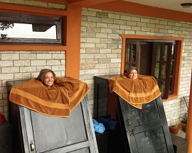 Expérience sauna