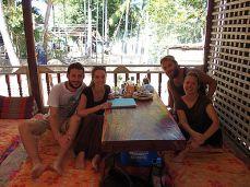 Erdal et Debo au Laos