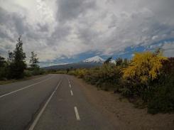 Stop sur la route du Volcan Osorno