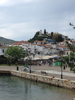 Skiathos city