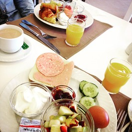 Petit déjeuner Skiathos