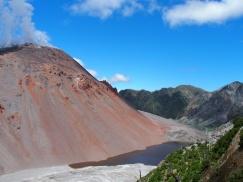 Volcan Chaiten et ses fumées