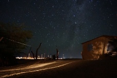 San Pedro de Atacama by night