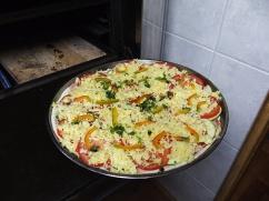 Pizza maison Couchsurfing - Chili