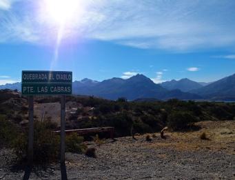 Direction Puerto Rio Tranquilo - Lac General Carrera en stop