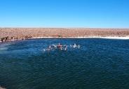 Lagunas Escondidas - En mode flotteur