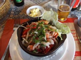 Ceviche de Saumon - Chloé