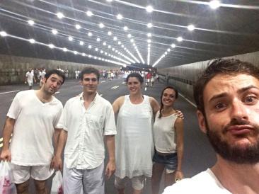 En route pour le nouvel an de Rio de Janeiro
