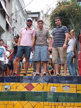 Escaliers Rio de Janeiro