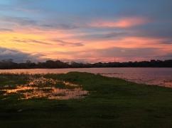 Fazenda coucher de soleil - Parc Pantanal