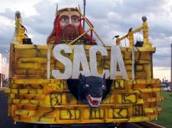 Carnaval d'Encarnacion - Char Saca