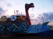 Carnaval d'Encarnacion - Char Drakkar