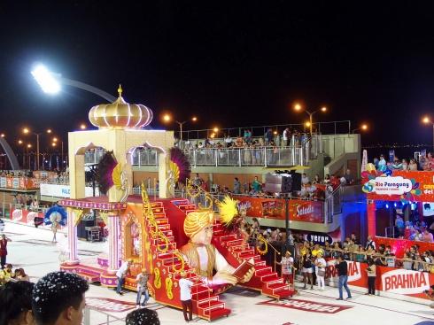 Carnaval d'Encarnacion - Char Aladin